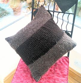 Hand Made 100% Rare Breed Wool Cushion